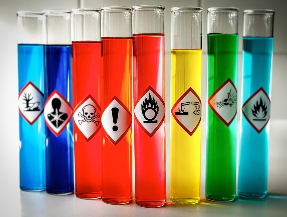 سیلیس در مواد شیمیایی